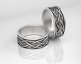 3D print model Ring with Ornament 3