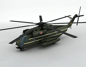 Sikorsky Ch-53 Presidential Helicopter 3D model