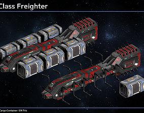 3D model Spaceship Civilian Ship Collection III