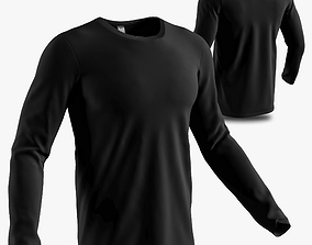 3D long sleeve shirt