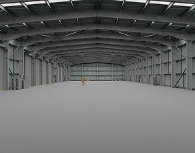 Warehouse Interior 2 3D asset