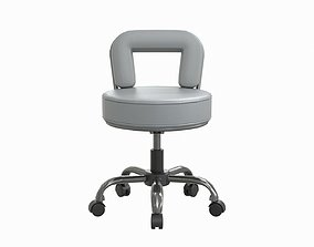 salon chair 3D model realtime