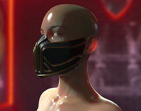 Krypt mask Mortal Kombat 11 3D print model