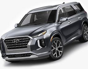 3D model Hyundai Palisade 2020
