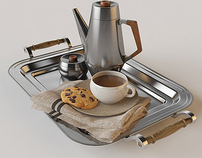 coffee set Decorative Tableware 3D