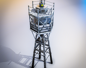 Lother Rock Beacon 3D model