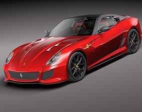 Ferrari 599 GTO 2011 3D
