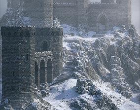 architecture 3D model Winter Castle