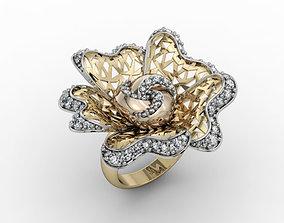 3D print model printable Fashion ring