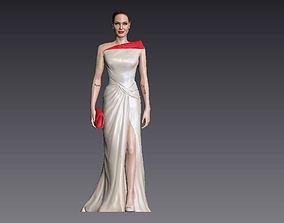 Angelina Jolie 3D Model ready for 3d print