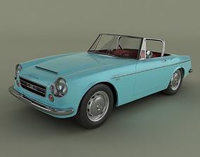 Datsun 2000 Fairlady 3D model fairlady