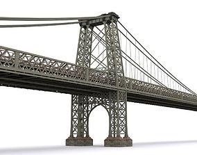 Williamsburg Bridge 3D model