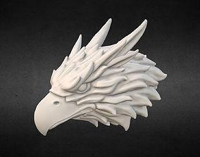 Griffin head Eagle head 3D print model