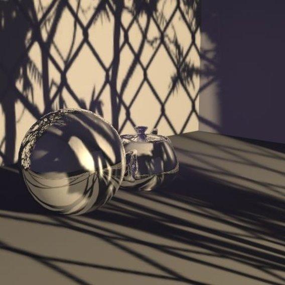3Dwork with default scanline