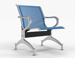 seating 3D model Waiting chair