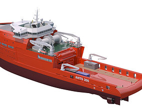 3D Anchor Handling Tug Supply