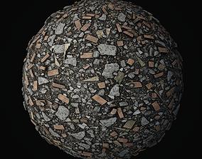 3D Debris Piles PBR seamless textures 4K