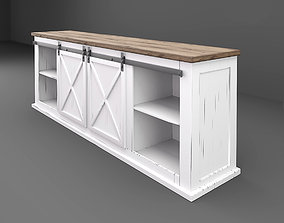 Farmhouse cabinet 3D model