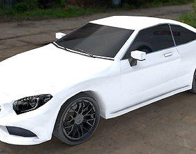 3D asset Mercedes Benz S Class Coupe