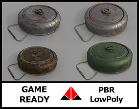 Landmine Texture Pack 3D model