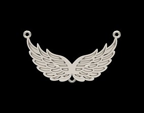 3D print model Pendant angel wings
