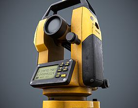 Theodolite Dealer PBR Game Ready LODs 3D model