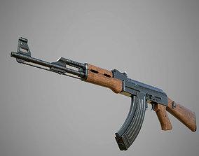 3D model AK 47 Rifle