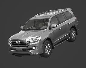3D model Toyota Land Cruiser VXR 2016