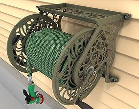 Hose reel wall mount 01 3D model