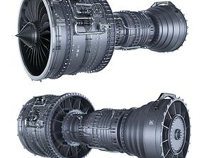 Engine jet BOEING 3D