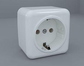 3D model Power socket mk 2