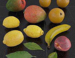 3D model Fruit Set 01