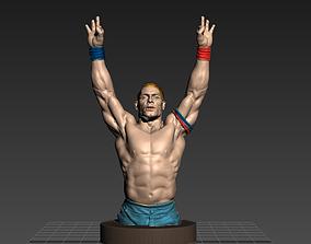 John Cena celebrity 3D printable model