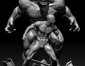 SpiderMan vs Rhino 3D printable model