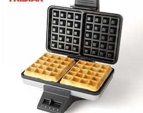 3D model Waffle maker Tristar WF-2141