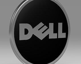 computer Dell 3d logo company
