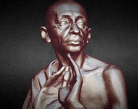 3D print model gandhi Mahatma Gandhi