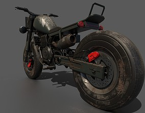 homefront motorcycle PBR 3D model