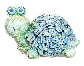 Figurine Turtles 3D model