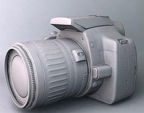3D model Canon EOS 350D Rebel XT