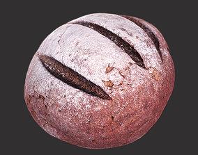 Brown Bread 3D asset