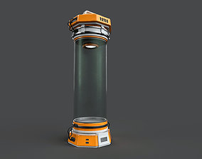 3D asset Sci Fi Capsule
