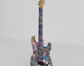 3D Guitar jazz