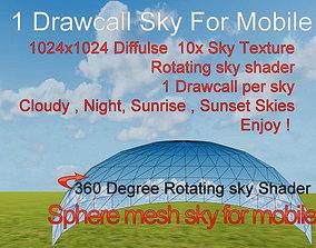 Mobile Skybox Pack 3D model