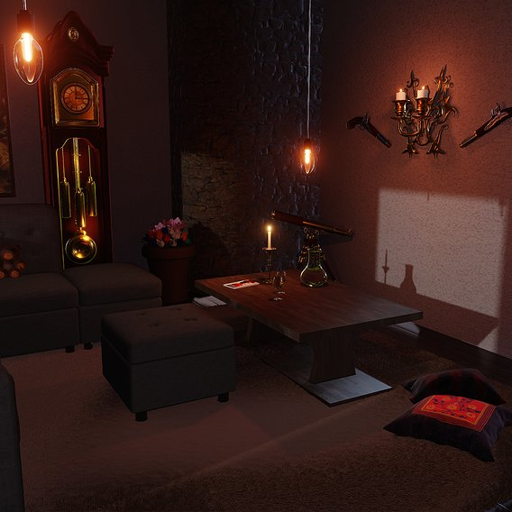 Living Room 8K