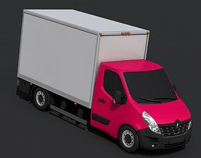 3D asset realtime Renault Master Pickup 2018