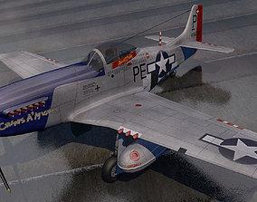 North American P-51D Mustang 3D model