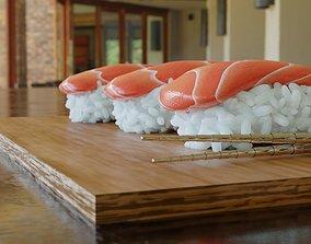 Sushi Model 3D