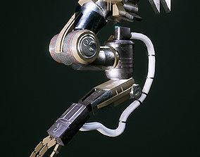 3D asset realtime Robotic Arm