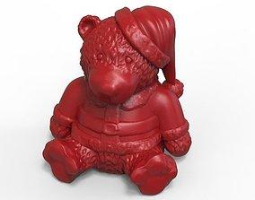 fur Christmas Bear 3D print model